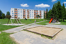 Sportoviště Zubří - Dětké hřiště Sídliště 6. května