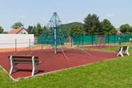 Sportoviště Zubří - Polyfunkční centrum - lanová pyramida